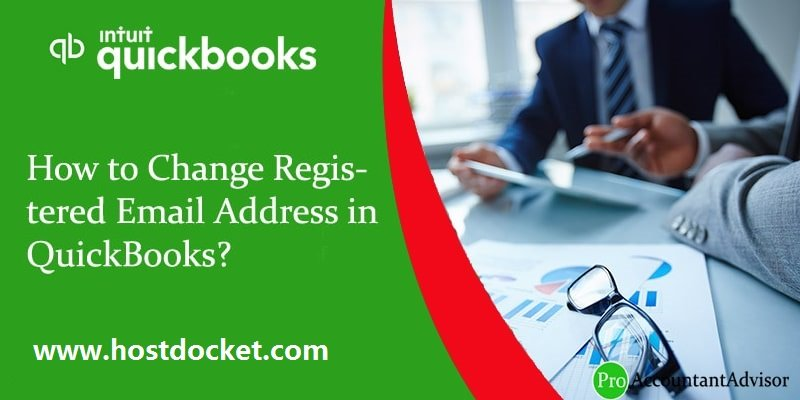 How to Change Registered Email Address in QuickBooks?