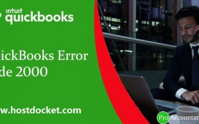How to Resolve QuickBooks Error 2000?