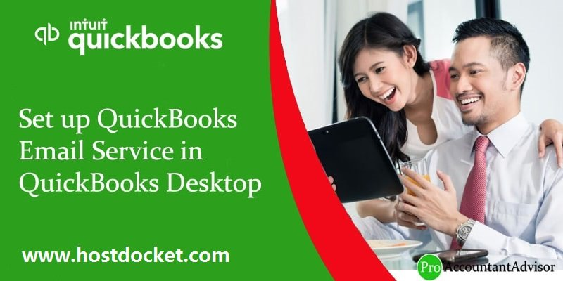 How to Setup and Configure Email Services in QuickBooks desktop