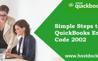 How to Fix QuickBooks Error Code 2002