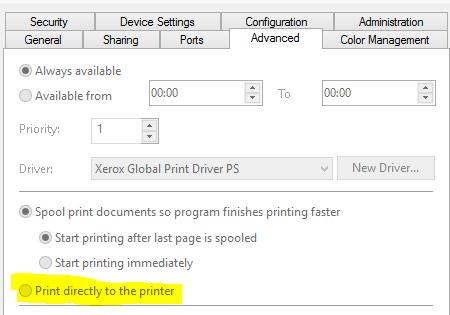 bypass the print spooler - Screenshot 3