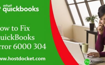 How to Fix QuickBooks Error 6000 304?
