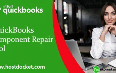 How to Resolve QuickBooks Component Repair Tool?