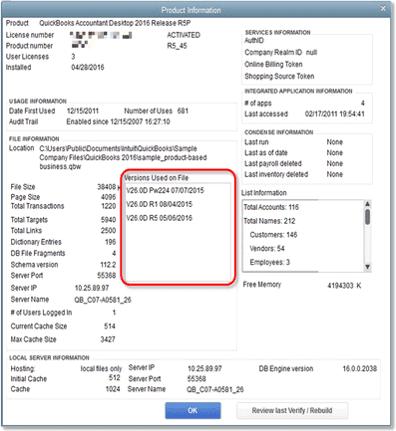 QuickBooks Desktop Pro Premier or Enterprise Version