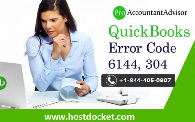 How to Resolve QuickBooks Error Code 6144, 304