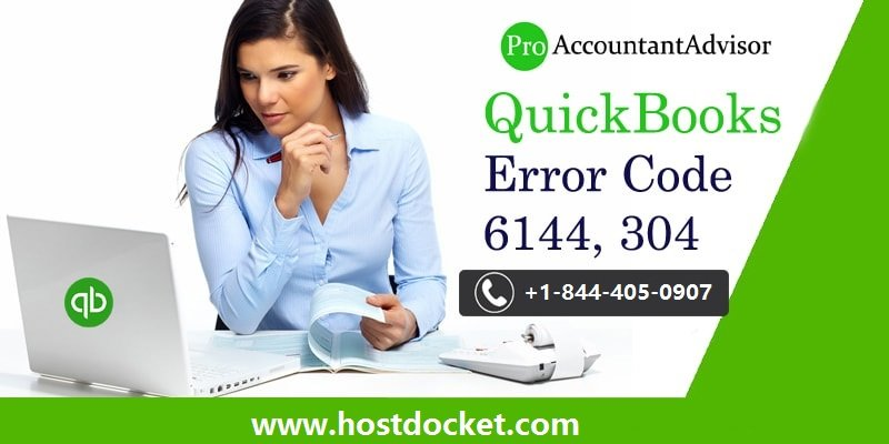 QuickBooks Error Code 6144-304