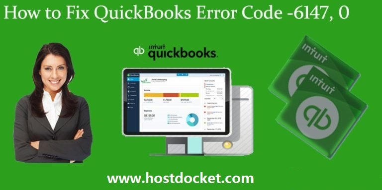 How to Fix QuickBooks Error Code-6147, 0