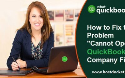 How to Troubleshoot Error: Cannot Open QuickBooks Company File