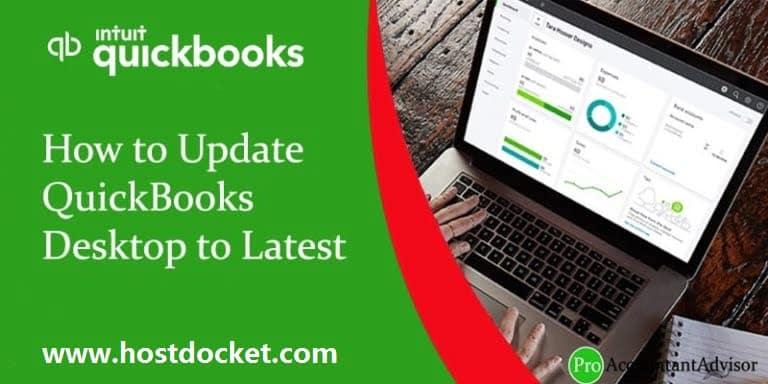 How to Update QuickBooks Desktop to Latest Version