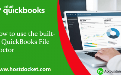 How to use the built-in QuickBooks File Doctor?