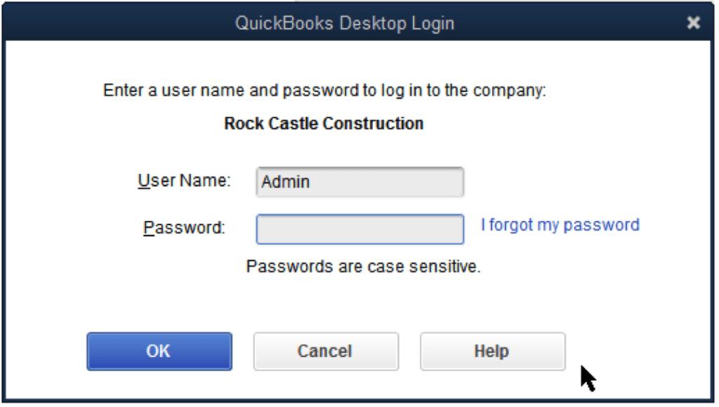 Password Reset - Screenshot 1