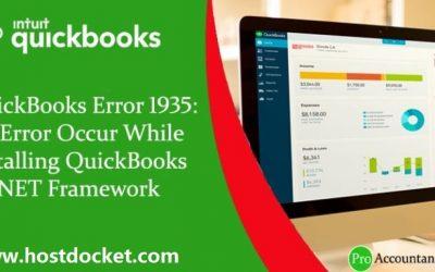 Easy ways to resolve QuickBooks Error 1935