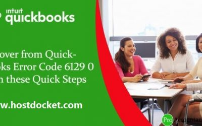 How to Fix QuickBooks Error 6129, 0 (Database connection verification failure)