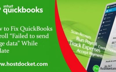 How to Fix Error QuickBooks Payroll update error (Unable to send usage data)