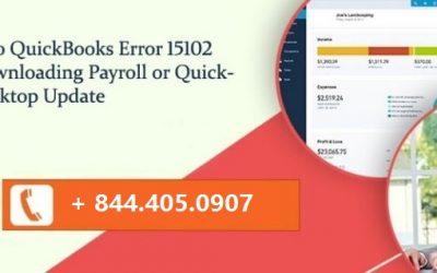 How to Solve QuickBooks Error 15102?